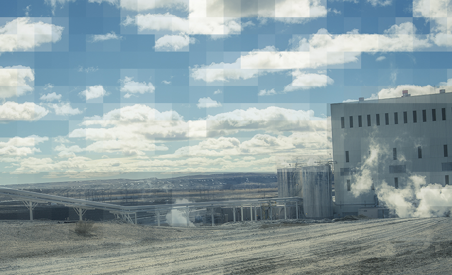 Photo of mining facility in Wyoming